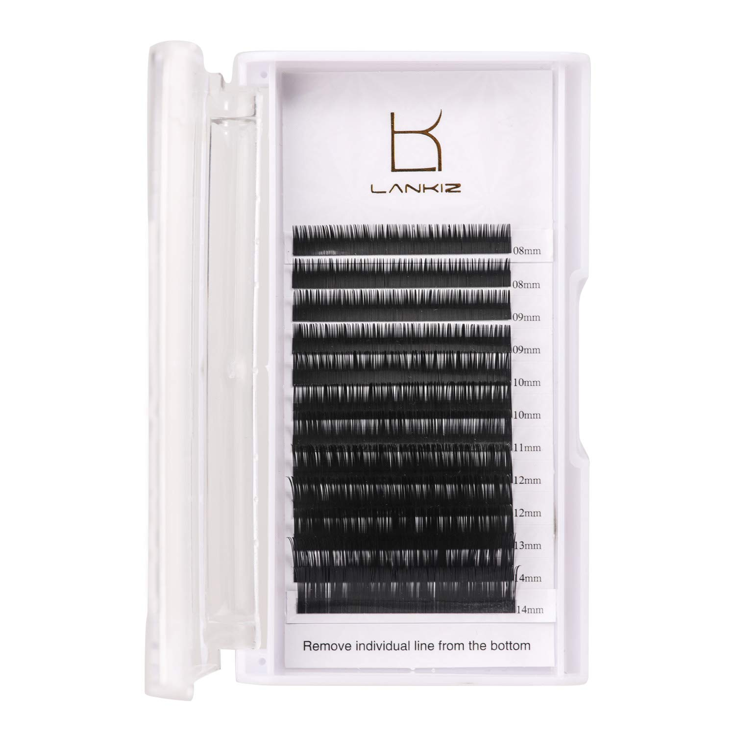 Amazon J Curl Eyelash Extensions 15 Thickness 8 15mm Mixed