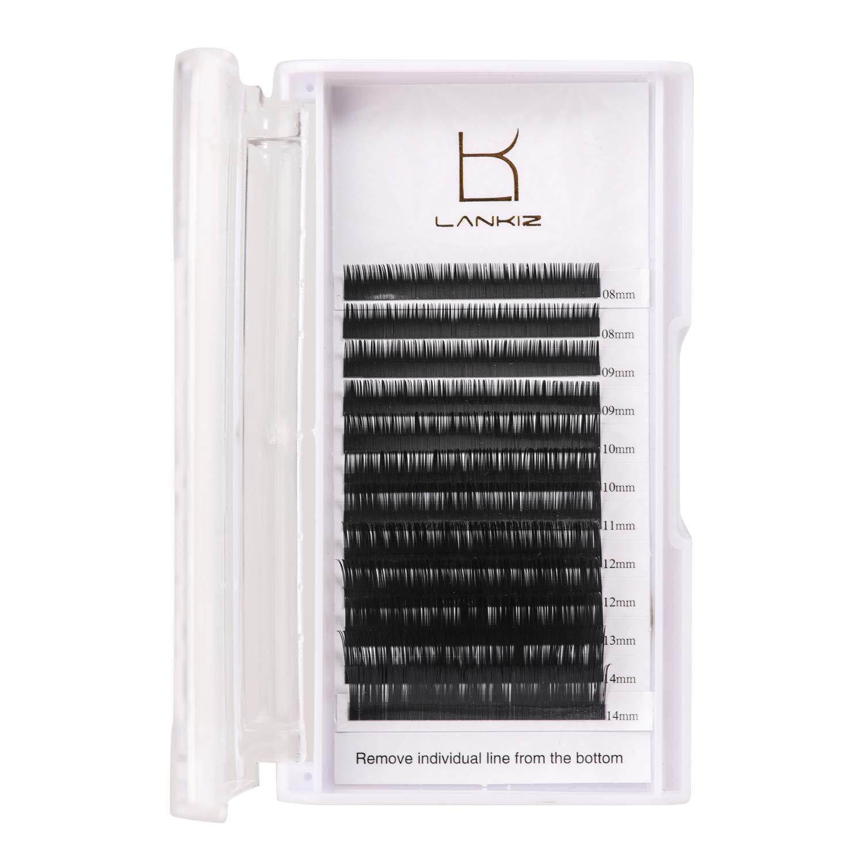 Amazon Lankiz Eyelash Extensions C Curl 007mm Lash