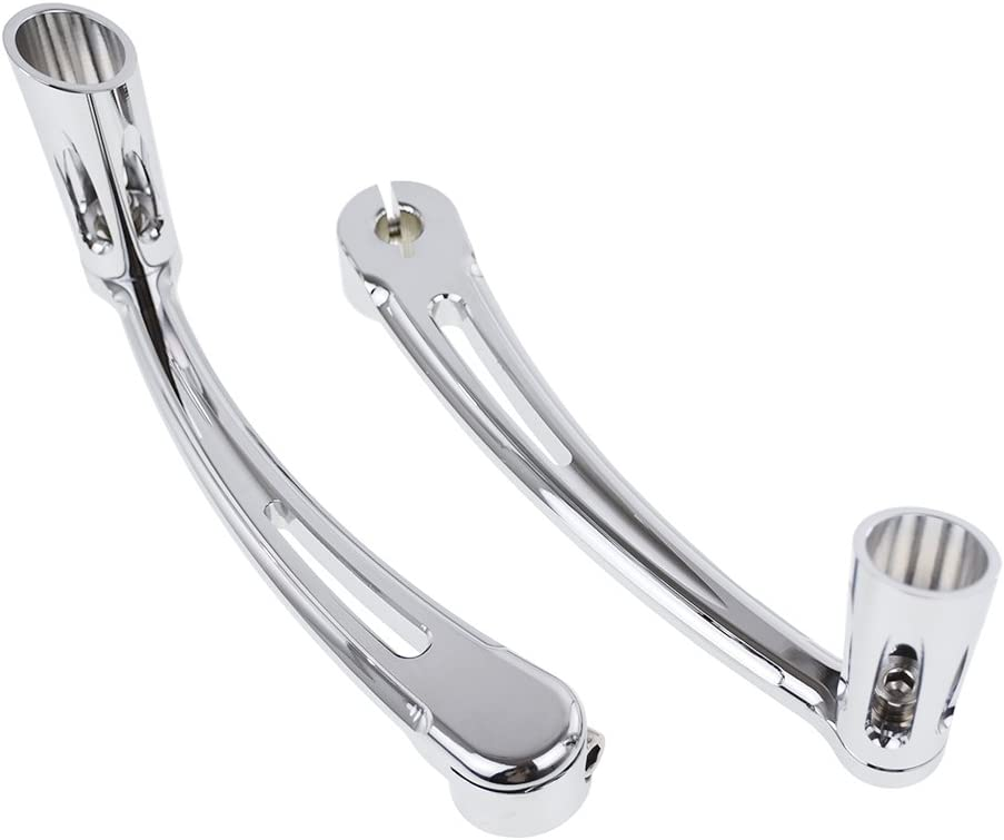 Rebacker Motorcycle Brake Arm Peg Pedal with Front Rear Shift Levers Shifter Pegs for Harley Touring 2008-2013