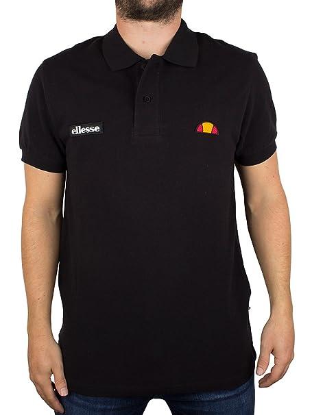 Ellesse Hombre Perugia 59 Logo Polo Shirt, Negro, X-Large: Amazon ...