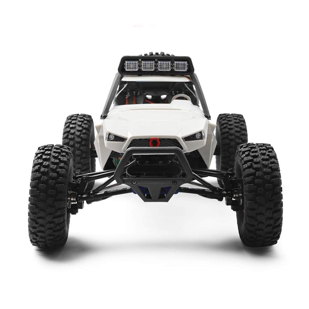 Choosebuy❤️ Wl 540 Brush Motor High Speed 40km/h 1:12 4D 2.4GHz Radio Off-Road Remote Control Car Racing with LED Children Adults Christmas Birthday Gift (White) by Choosebuy (Image #4)