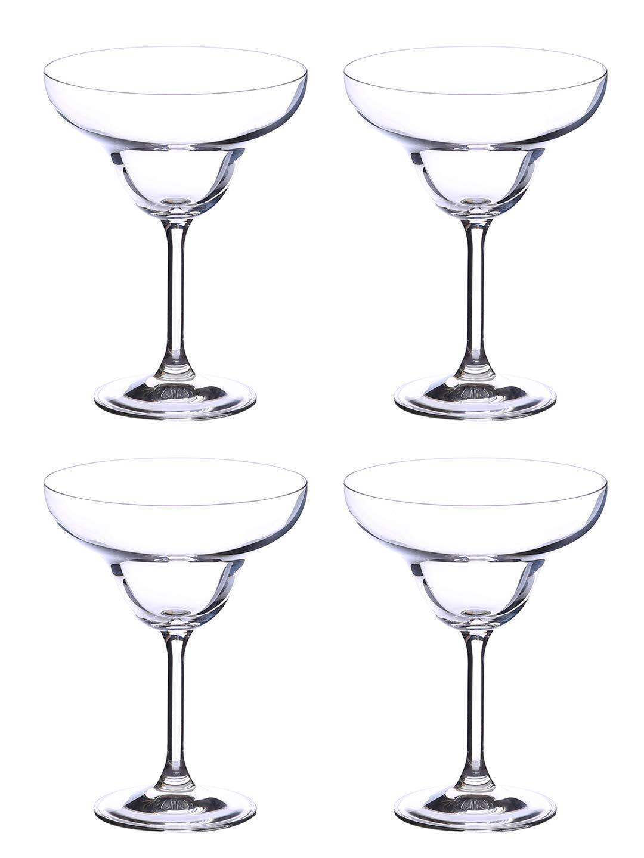 Ella Sabatini Bar Bar Flute, Clear, 190 ml, Pack of 4 Crystalex BC729-190