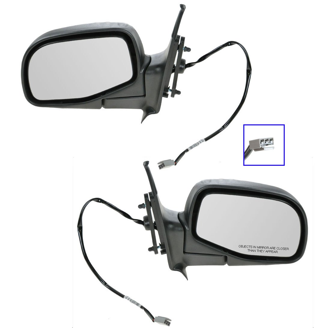 New Door Mirror Glass Replacement Driver Side For Ranger Explorer 1995-05