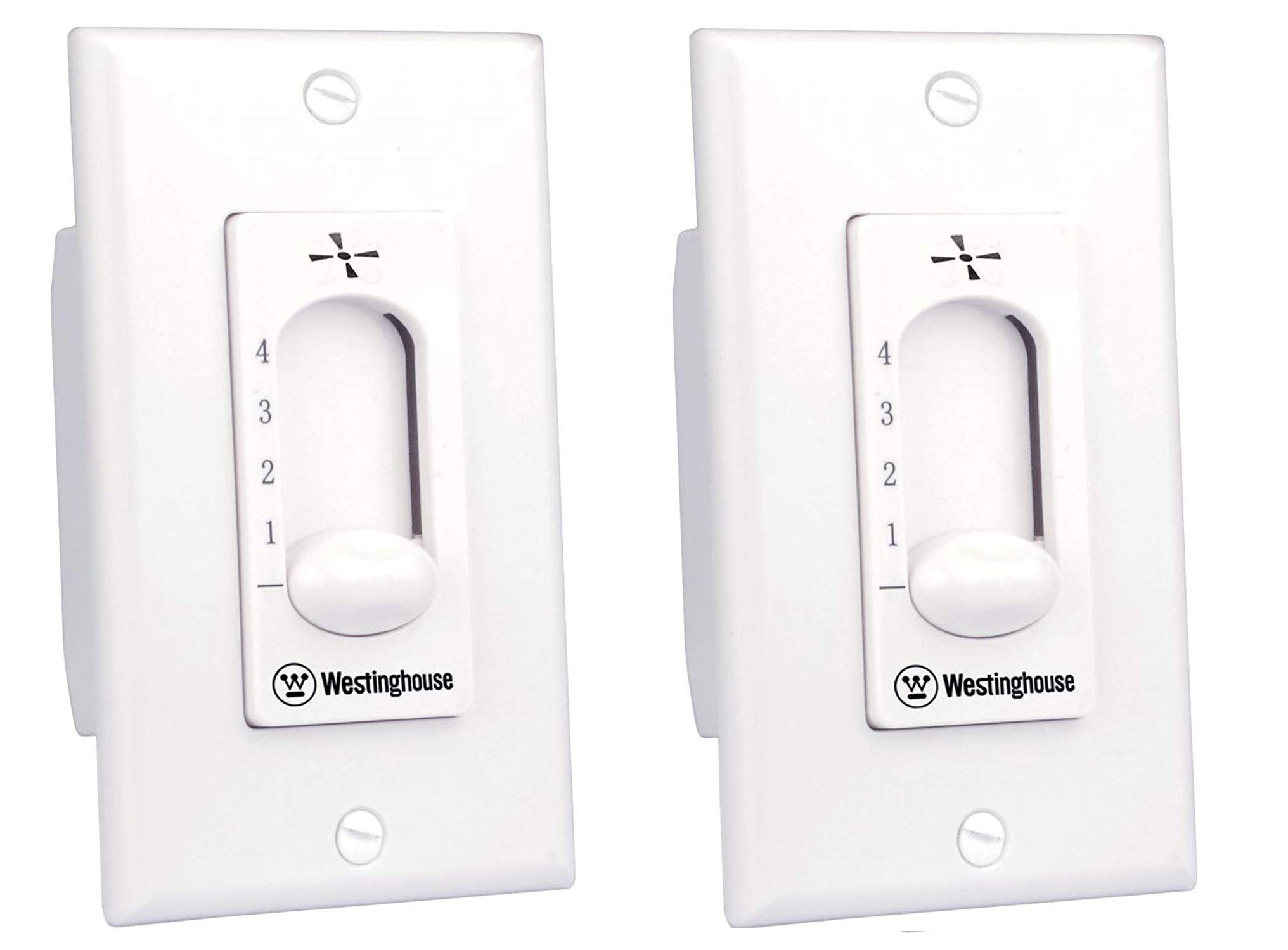 Westinghouse 7787200 Ceiling Fan Wall Control - 2 Pack