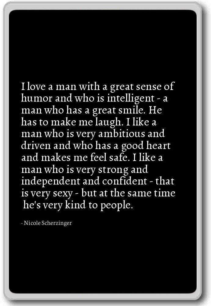Amazoncom I Love A Man With A Great Sense Of Humor Nicole