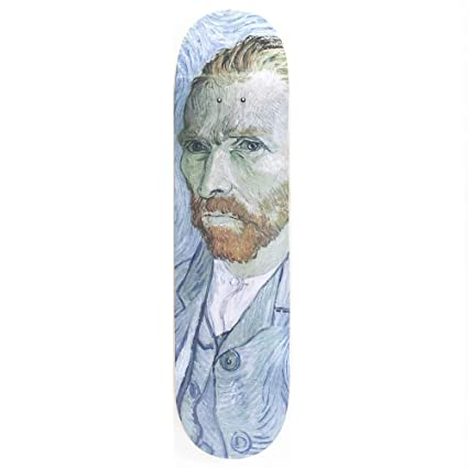 Amazon.com: MUSART Limited Edition - Van Gogh - Skateboard Deck ...