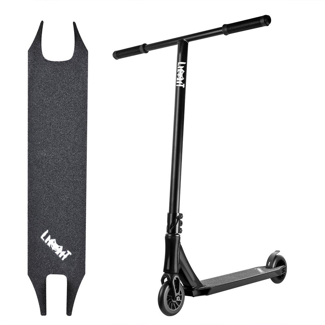 5 wisdoms Pro Stunt Scooter for Intermediate and Advanced Rider (B-black)