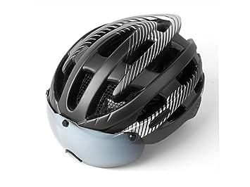 LridSu Superior Casco Ajustable de la Bicicleta del Ciclo del Adulto Cascos de la Bici con