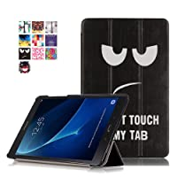 Tab A6 10.1 Custodia,Samsung Galaxy TabA 10,1'' Cover - Ultra Slim Copertura Protezione in PU Pelle Custodia con Supporto Cover per Samsung Galaxy Tab A 10,1'' Pollice (2016) SM-T580N / SM-T585N Tablet (Dont touch)