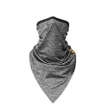 Bufanda de seda de hielo al aire libre turbante máscara de protección solar alta tela de