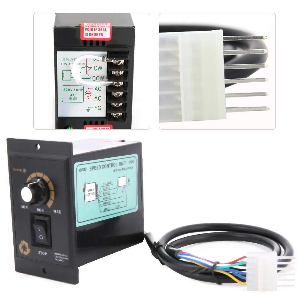400W Naroote AC 220V 300W 400W 500W AC Motor Speed Controller Electric Motor Speed Regulator