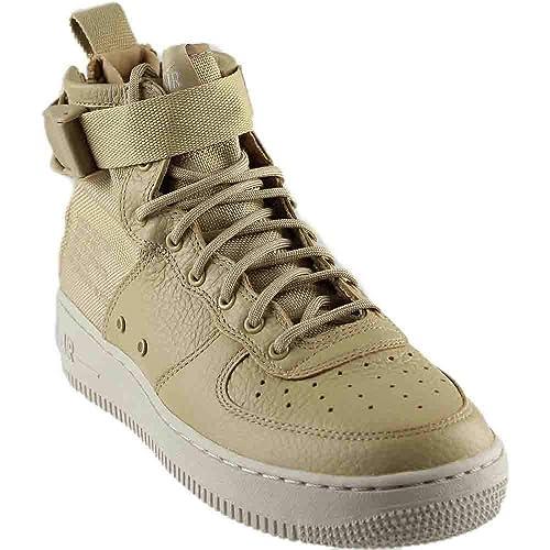 new style 3bfcc 8fa52 Nike SF Air Force 1 Mid G.S Youth Big Kids Mushroom/Light ...