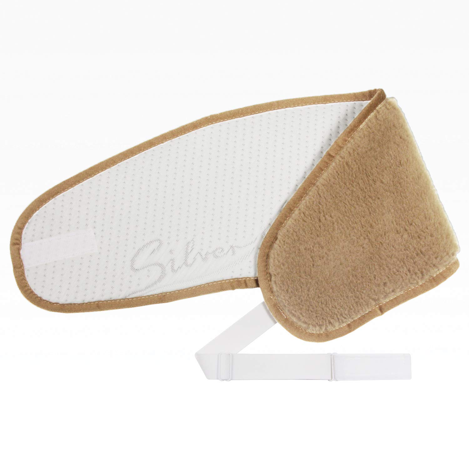LGL - kidney warmer, 100% natural camel hair, silver LGL GmbH