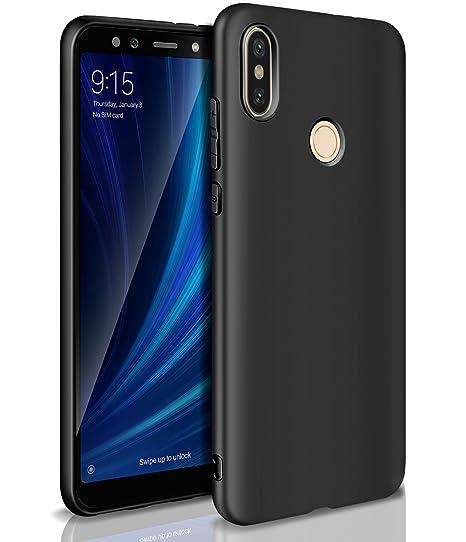 nuovo arrivo 75c8f c203f Cover Xiaomi Mi A2/Mi 6X, AROYI Custodia Xiaomi Mi A2 Opaco Morbido TPU  Silicone Anti Scivolo Protezione Posteriore Case Antiurto Caso Cover per ...