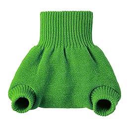Disana Organic Merino Wool Cover-Green-62/68 (3-6 mo)