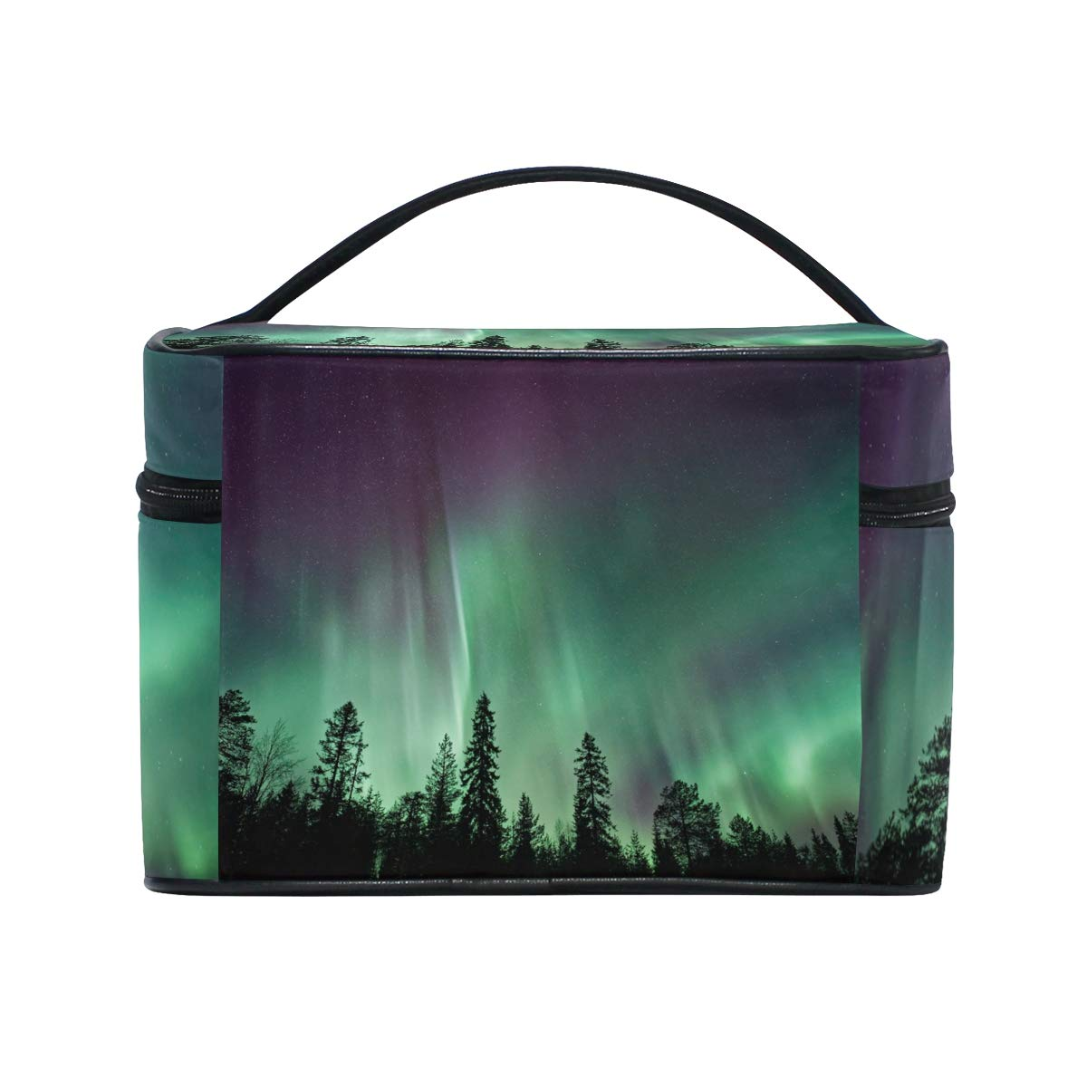 a0b3de38f282 Amazon.com : Dragon Sword Forest Aurora Cosmetic Toilet Bag for ...