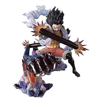 Siyushop One Piece Monkey D Luffy Gear 4 Snakeman King Cobra Onepiece Statue 6 3 Inches High