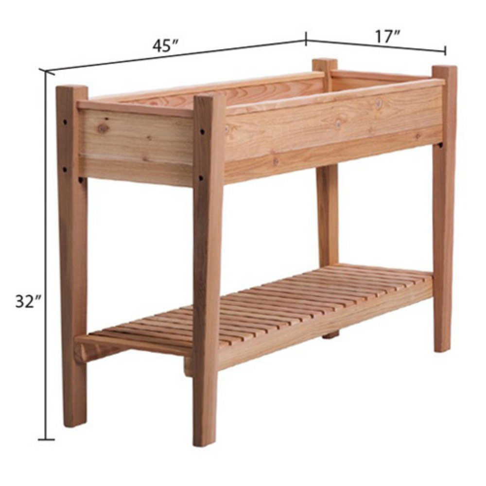 Arboria EZ Plant Cedar Raised Garden Bed
