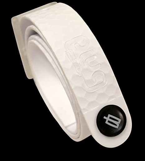 PlugBelt Golf Style & Ball Marker White - Cinturon de golf para ...