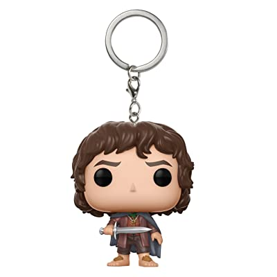 Funko Pop Keychain The Lord of The Rings Frodo Action Figure: Funko Pop! Keychain:: Toys & Games