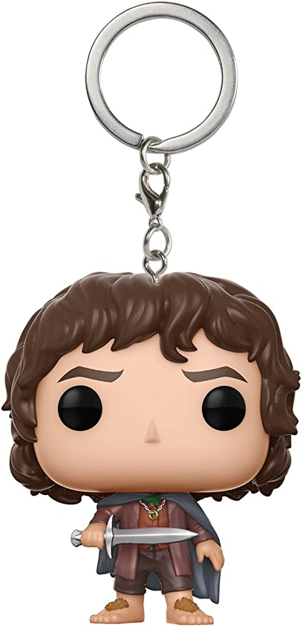 Lord of the Rings Mystery Funko Pocket Pop no chain Keychain Frodo