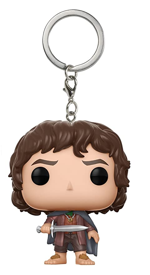 Lord of the Rings- Pocket Pop Keychain Frodo LOTR/Hobbit Llavero de Vinilo (Funko 14037)