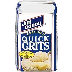 Jim Dandy Enriched Quick Grits, 2 Pound Bag