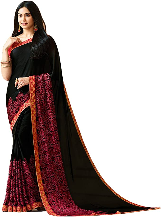 Multicolor Readymade Polyester Blouse Stitched Wedding Christmas Party Wear Print Saree PRINTED Crop Sari Top For Women