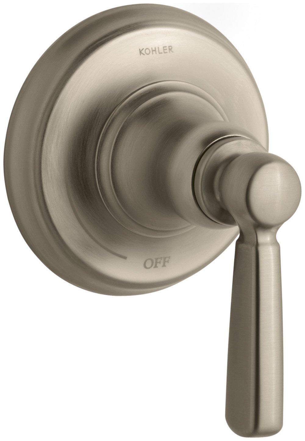 KOHLER K-T10596-4-CP Bancroft Volume Control Trim, Polished Chrome ...