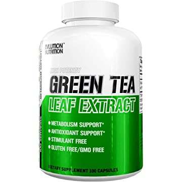 best selling Evlution Nutrition Green Tea Leaf Extract Supplement with EGCG for Metabolism & Antioxidant Support* Stimulant Free