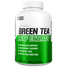 Evlution Nutrition Green Tea Leaf Extract Supplement with EGCG for Metabolism & Antioxidant Support* Stimulant Free