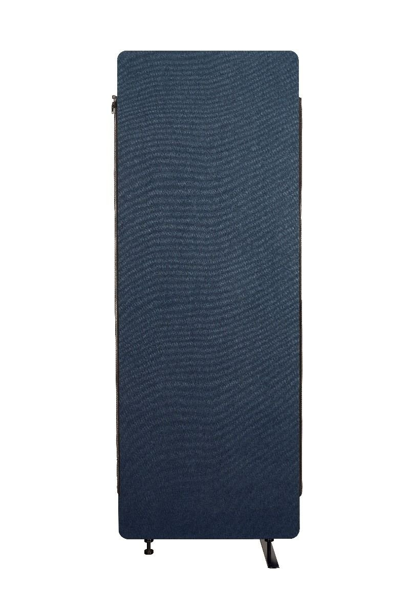 Luxor Reclaim Acoustic Room Dividers Expansion Panel - Starlight Blue
