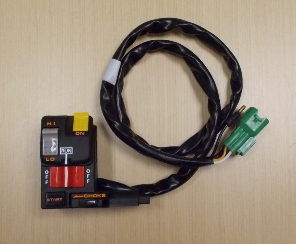 1996-1997 Honda TRX 400 TRX400 TRX400FW Foreman Start Kill Light Choke Switch
