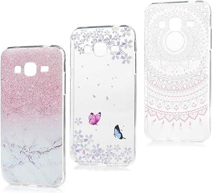 3x LANVY Coques pour Samsung Galaxy J3/ J3 2016 Étui TPU Silicone Souple Coque Cover Gel Doux Housse Bumper Anti-dérapante Coque pour Samsung Galaxy ...