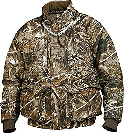 5bbe2a38f21de Amazon.com: Drake Waterfowl LST Down Full Zip Jacket Max 5 DW205 ...
