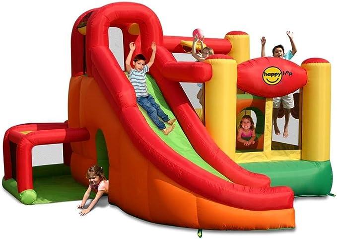 Happy Hop - Castillo hinchable (se infla en 2 minutos, 11 en 1 ...