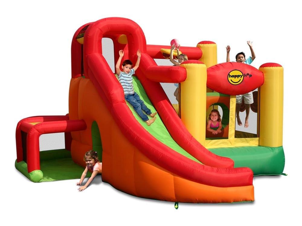 Happy Hop - Castillo hinchable (se infla en 2 minutos, 11 en ...