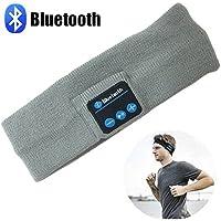 Pococina Banda de Cabeza Deportiva de Música Bluetooth