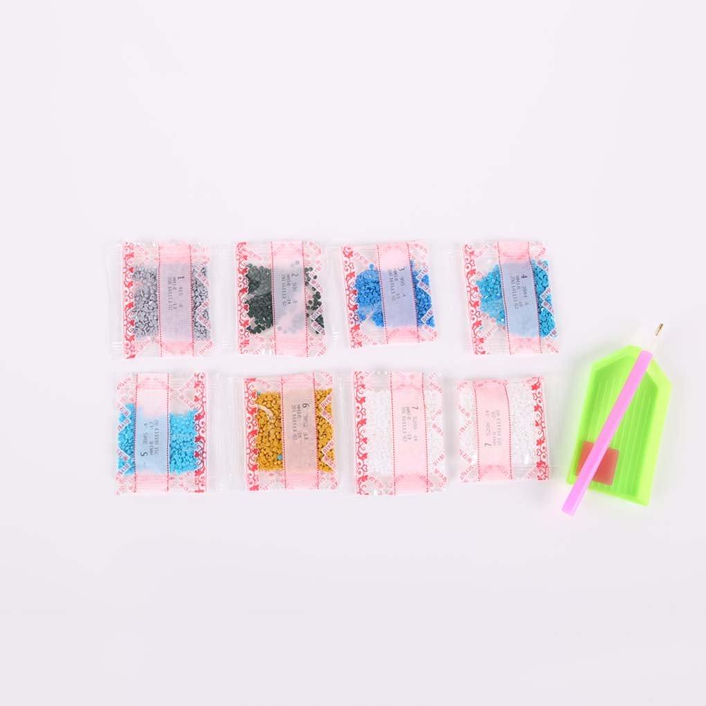 Zerama 5D Bricolaje Hada de la Luna Pintura imitaci/ón de Diamante de la Costura Beauty Girl Crystal Bordado de Punto de Cruz Fotos Decoraci/ón
