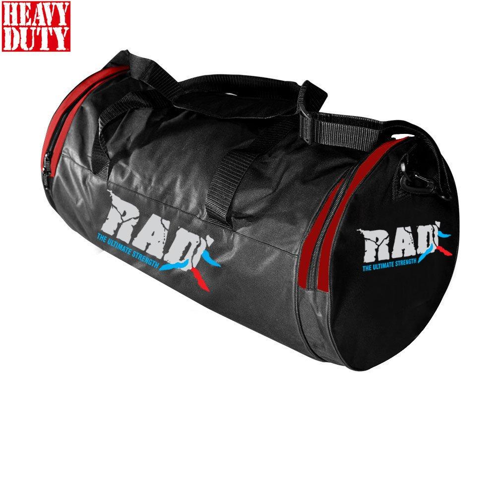 Rad HoldallジムフィットネススポーツクロスフィットボクシングWeight Liftingダッフルキットバッグ B071DH4LFW レッド レッド