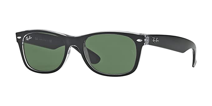 Ray Ban RB2132 6052 52M Black On Transparent/Green