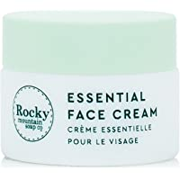 Rocky Mountain Soap Co Essential Face Cream   Travel Size   100% Natural Facial Moisturizer   Cruelty Free (Previously…