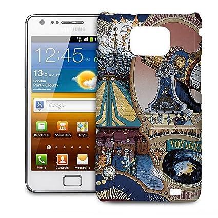 the latest e6ccb a4e7c Amazon.com: Phone Case For Samsung Galaxy S2 i9100 - Space Mountain ...