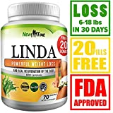 Linda - Weight Loss Pills for Women & Men - Herbal Diet Supplements - Natural Appetite Suppressant That Work Fast - Best Diet Pills 90 Pills …