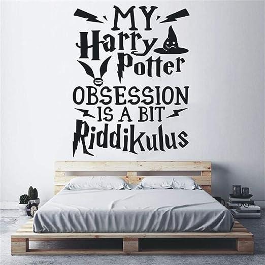 pegatina de pared pegatina de pared 3d Harry Potter Etiqueta de la ...