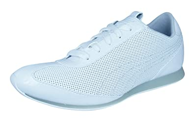 8f015def00a99f PUMA Danica Womens Leather Sneakers Shoes -White-6.5