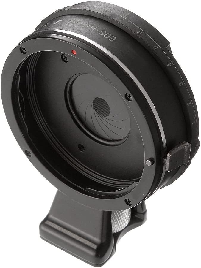 AW1 J4 FocusFoto Pro Built-in Aperture Control Lens Mount Adapter Ring for Canon EOS EF Lens to Nikon 1 N1 Mount Mirrorless Camera Body J1 V2 J5 S2 V3 J3 J2 S1 V1
