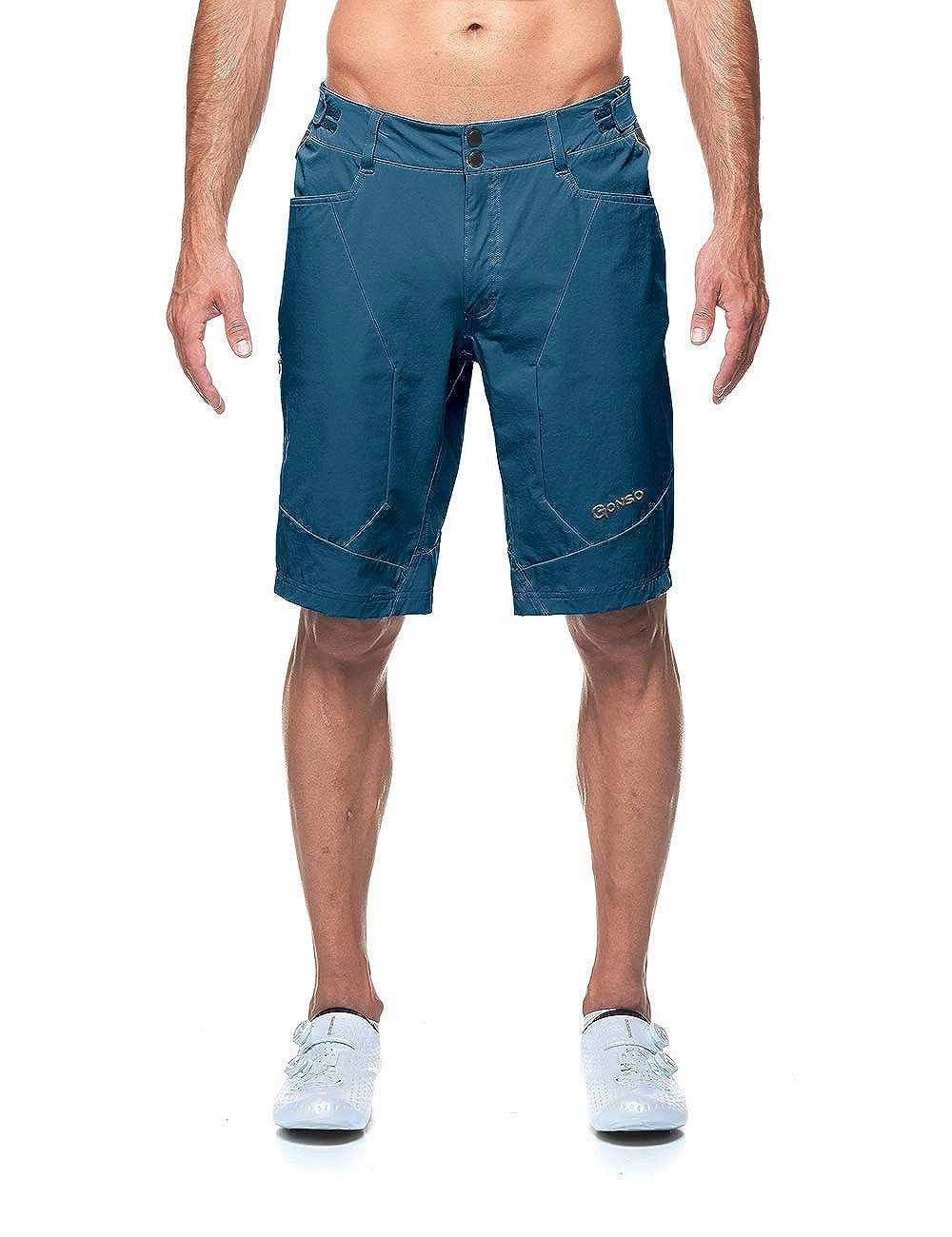 Majolica bluee 4XL Gonso Men's Orit Shorts