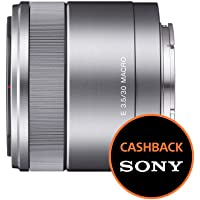 Sony SEL30M35 Obiettivo Macro E 30 mm F3.5, Argento