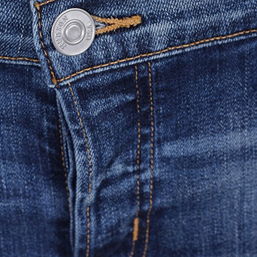Donna Cotone W4100dlqdishdnm Hudson Jeans Blu qCf6Tw5f